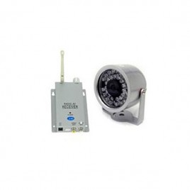 Pack camera de surveillance sans fil avec récepteur