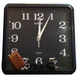 Horloge murale caméra espion télécommandé 4 Go