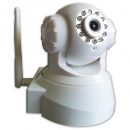 Caméra de surveillance IP Wifi motorisée rotative