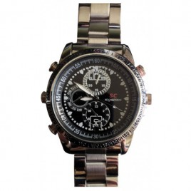 Montre camera espion 4Go métal