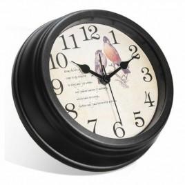 Horloge murale  caméra espion 1080P haute définition oiseau capteur de mouvement