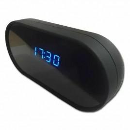 Réveil matin micro camera cachée haute définition 1080P Wifi vision de nuit