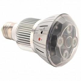 Ampoule avec mini camera intégrée IP résolution Full HD 1080P Wifi à vision de nuit