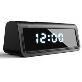 Réveil à caméra Ultra HD 4K Wifi détecteur de mouvement