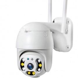 Caméra de surveillance 2MP HD 1080P à vision nocturne et audio bidirectionnel Wifi et IP