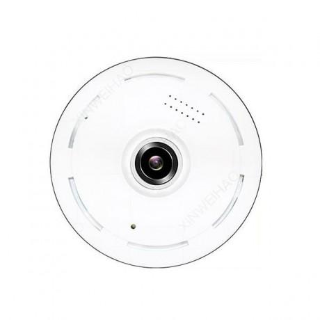 Caméra de surveillance vue à 360° HD 1080P audio bidirectionnel