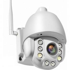 Camera de surveillance à tête rotative Carte SIM 3G et 4G Zoom X5 audio bidirectionnel