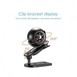 Mini caméra espion HD 1080P à vision nocturne et détecteur de mouvement