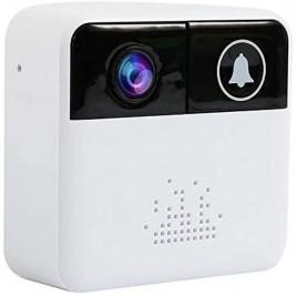 Sonnette interphone à caméra de surveillance full HD 1080P microphone et haut-parleur