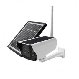 Caméra de surveillance à panneau solaire waterproof Carte SIM 3G et 4G