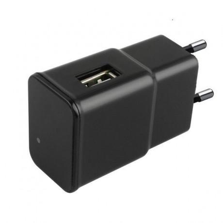 Chargeur USB à caméra espion Ultra HD 4K Wifi et détecteur de mouvement
