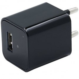 Chargeur USB à caméra espion Full HD 1080P à enregistrement en boucle