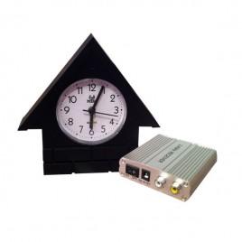 Horloge caméra espion et surveillance sans fil avec récepteur