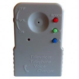 Boîtier pour changer de voix au téléphone