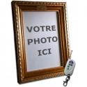 Cadre photo caméra espion télécommandé