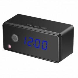 Réveil matin mini caméra cachée 1080P Wifi vision nocturne et détection de mouvement