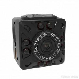 Micro mini caméra espion avec résolution Full HD 1080P vision de nuit et détecteur de mouvement