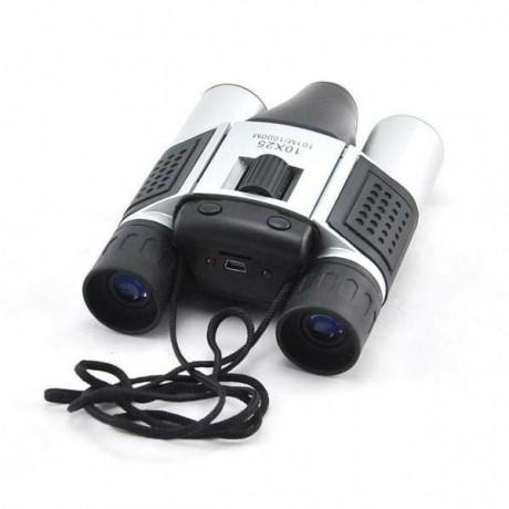 Jumelles avec grossissement X10 avec caméra 480P intégrée