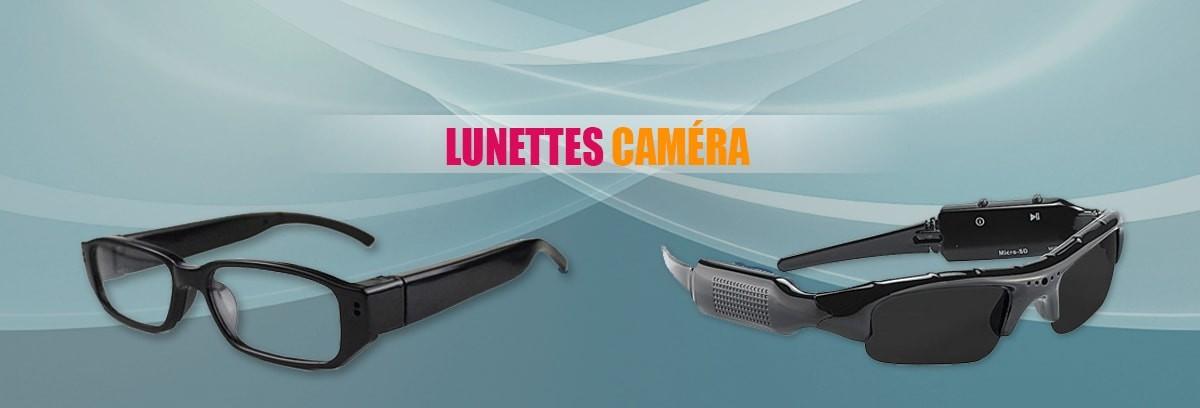 Lunettes caméra